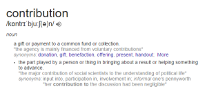 Contribution_definition
